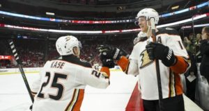 The Anaheim Ducks have lost Corey Perry and Ondrej Kase to injury already this season.