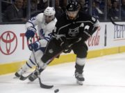 Drew Doughty said he used the Toronto Maple Leafs so the Los Angeles Kings wouldn't screw him.