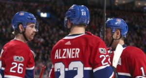 Karl Alzner's ironman streak over. Tomas Plekanec two games away from 1000.