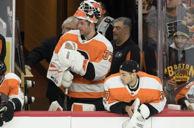 The Philadelphia Flyers goaltending woes continue