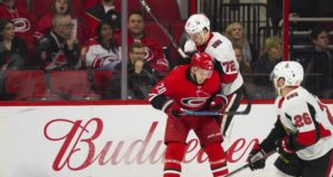 Ottawa Senators and Carolina Hurricanes