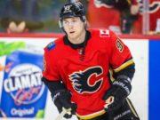 Sam Bennett of the Calgary Flames