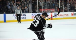 Dustin Brown out with a broken finger.