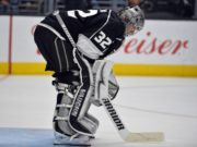 Jonathan Quick is just one of several goaltenders that has been hit with an injury.