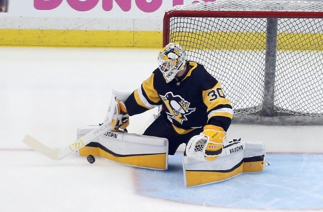 Pittsburgh Penguins Matt Murray suffers his third concussion.