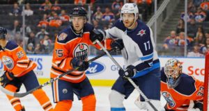 Edmonton Oilers rookie Evan Bouchard is hoping he can stick around with the team.