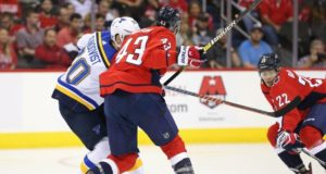 Washington Capitals forward Tom Wilson has been suspended for 20 games for an illegal head check on St. Louis Blues forward Oskar Sundqvist.