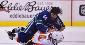Calgary Flames Travis Hamonic out week-to-week with facial fractures.