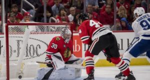 Cam Ward's no-movement clause may mean Anton Forsberg gets traded or put on waivers.