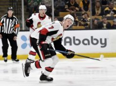 The Ottawa Senators have lost Brady Tkachuk for a month.
