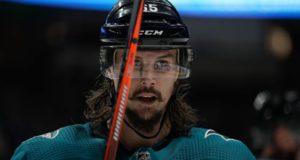 San Jose Sharks defenseman Erik Karlsson isn't worried out his future right now.