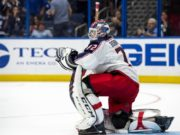 Teams are interested in trading for Columbus Blue Jackets goaltender Sergei Bobrovsky.