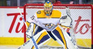 Nashville Predators Pekkia Rinne is one of the top pending 2019 NHL free agents.