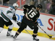 Ryan Getzlaf and Joe Thornton