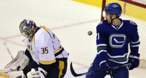 Injury updates on Pekka Rinne and Brandon Sutter.