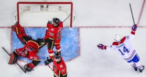 The Calgary Flames have been dealing with some goaltending issues this season.