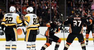 The Pittsburgh Penguins may not be done making moves and have talked with the Anaheim Ducks.