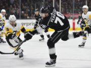 The Los Angeles Kings traded Tanner Pearson to the Pittsburgh Penguins for Carl Hagelin.