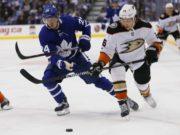Anaheim Ducks defenseman Brandon Montour name has come up William Nylander speculation.