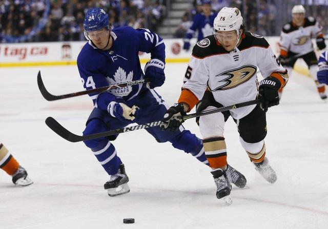 NHL Rumors: Toronto Maple Leafs, Anaheim Ducks, and the Boston Bruins