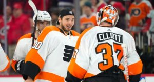 The Philadelphia Flyers are dealing with some goaltending injuries.