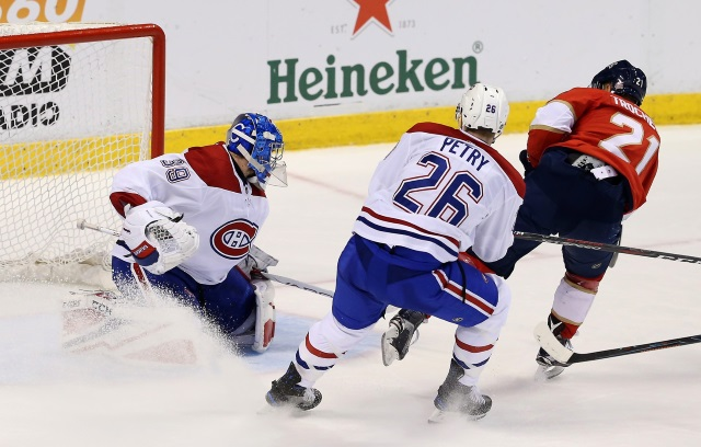 NHL Rumors: Montreal Canadiens and the Florida Panthers