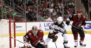 NHL injury updates including Antti Raanta and Eric Staal