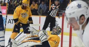 Nashville Predators pending UFA goaltender Pekka Rinne. Auston Matthews' injury could help the Toronto Maple Leafs salary cap situation next year.