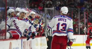 Teams are interested trading for NY Rangers forward Kevin Hayes now.