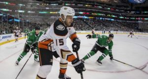 Ryan Getzlaf out with an upper-body injury.
