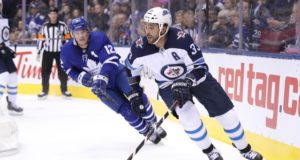 The Winnipeg Jets placed Dustin Byfuglien on the IR.
