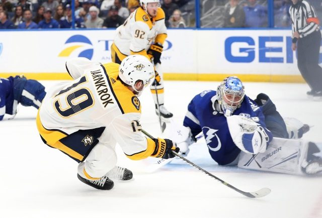 NHL power rankings: The top two teams for this weeks consensus power rankings were the Nashville Predators and the Tampa Bay Lightning