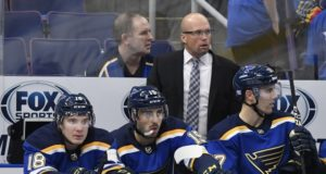 The St. Louis Blues fire head coach Mike Yeo.
