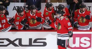 Taking a look at the Chicago Blackhawks at a quarter of the season.