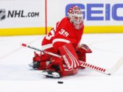 The Detroit Red Wings are interested in extending goaltender Jimmy Howard.