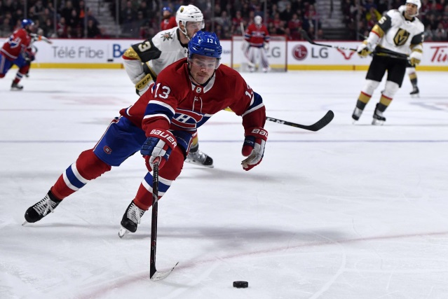 Max Domi hasn't asked the Montreal Canadiens for a trade.
