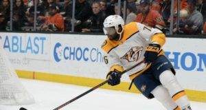 P.K. Subban is unable to finish the game last night