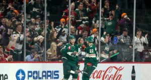 Taking a look at the Minnesota Wild a quarter of the way into the season.