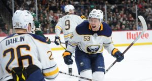 Jeff Skinner is looking for big money from the Buffalo Sabres to keep him from going to free agency