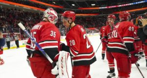 Taking a look the Carolina Hurricanes at the quarter mark of the season. What has worked and what hasn't. Who could be trade bait.