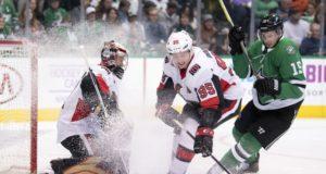 Ottawa Senators Matt Duchene and Craig Anderson
