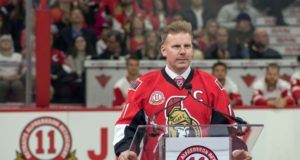 Daniel Alfredsson is one of ten retired players who could be worthy of a Hockey Hall of Fame Induction