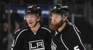 The Los Angeles Kings continue to talk trades. Jake Muzzin and Tyler Toffoli could be two players teams are interested in.