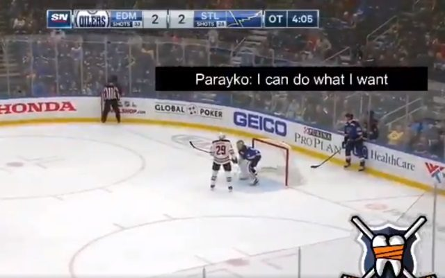 Colton Parayko does what he wants.