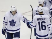 Toronto Maple Leafs GM Kyle Dubas isn't concerned about offer sheets for Auston Matthews and Mitch Marner.