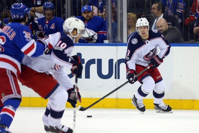 Artemi Panarin still not interested in signing with the Blue Jackets. The NY Rangers need to increase the trade value on guys like Mats Zuccarello and Kevin Shattenkirk.