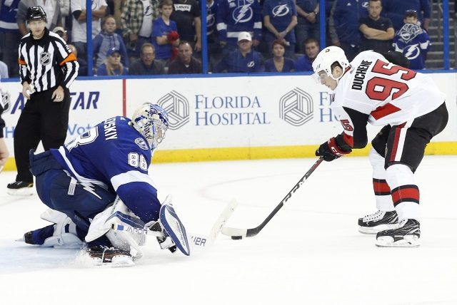 Andrei Vasilevskiy could return for their road trip. Matt Duchene to the IR and out week-to-week.