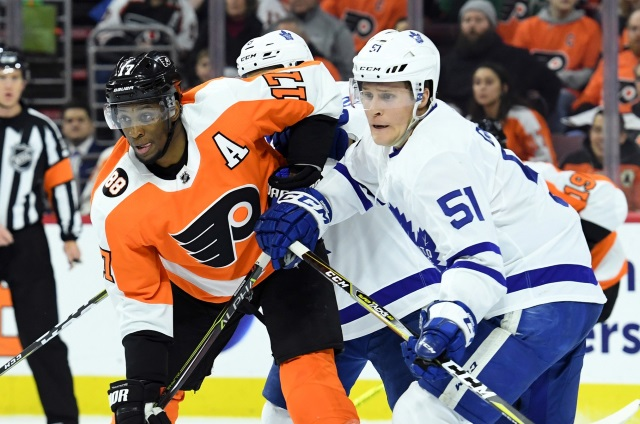Leafs deal Josh Leivo to Canucks in exchange for AHLer