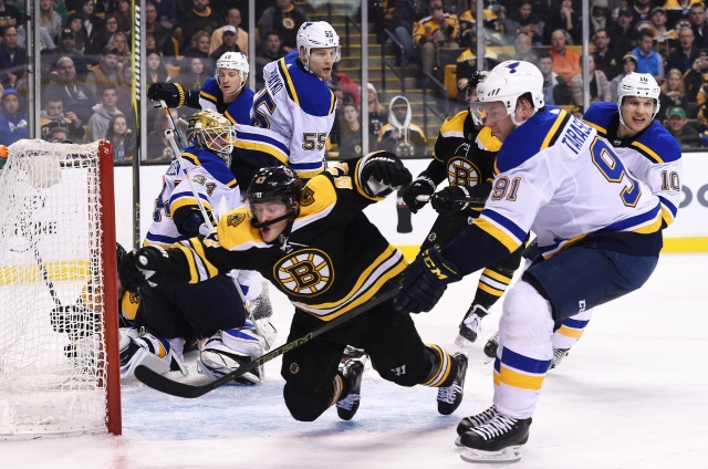 NHL Rumors: St. Louis Blues, and the Boston Bruins