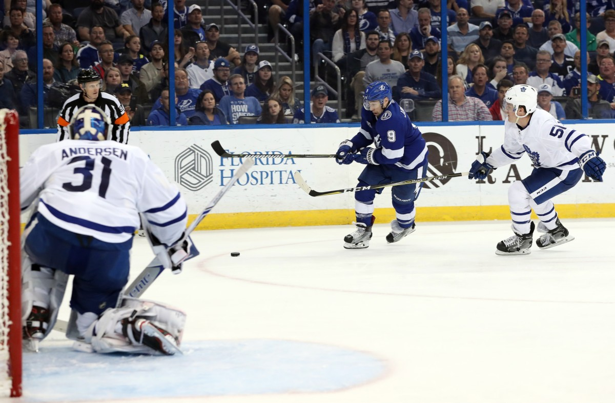 NHL power rankings: Tampa Bay Lightning and Toronto Maple Leafs sit at the top of our power rankings for week 9.